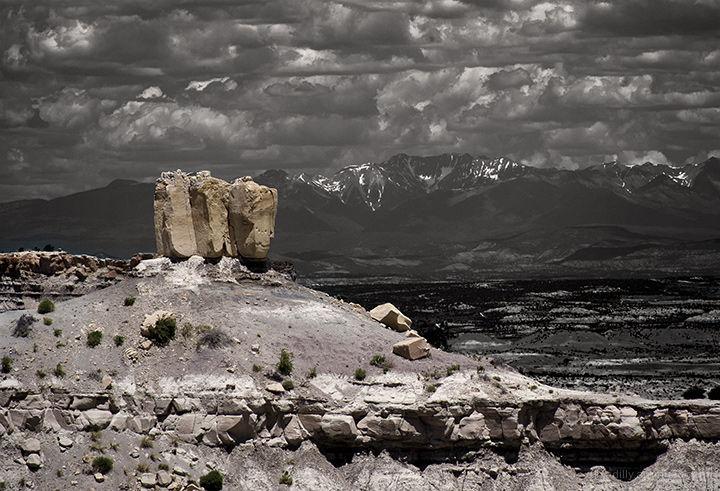 Angel Peak Monolith