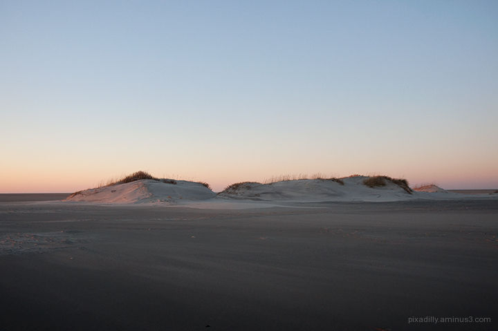 Southern Dunes After Sunset