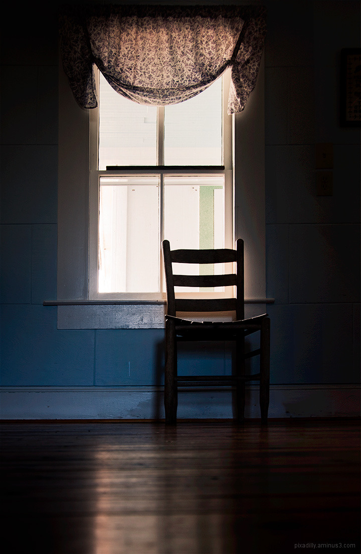 Simple Chair by a Window