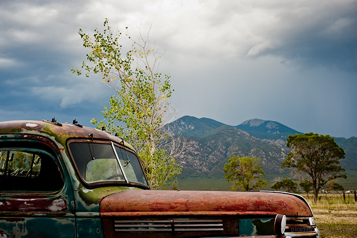 Taos Mountain in the Distance # 6