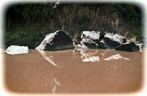 Rio Grande Rock Reflections