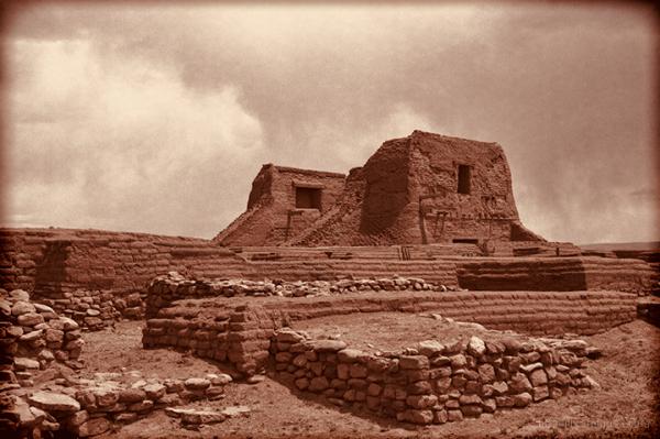 Pecos Church Ruins
