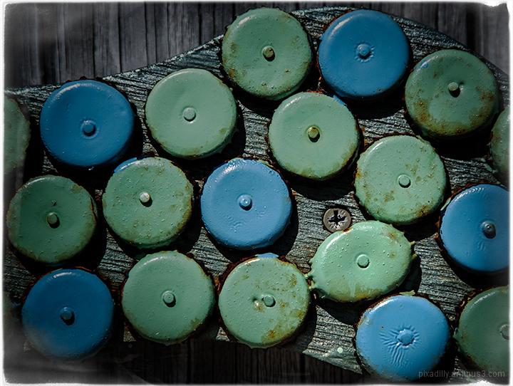 Blue-Green Three