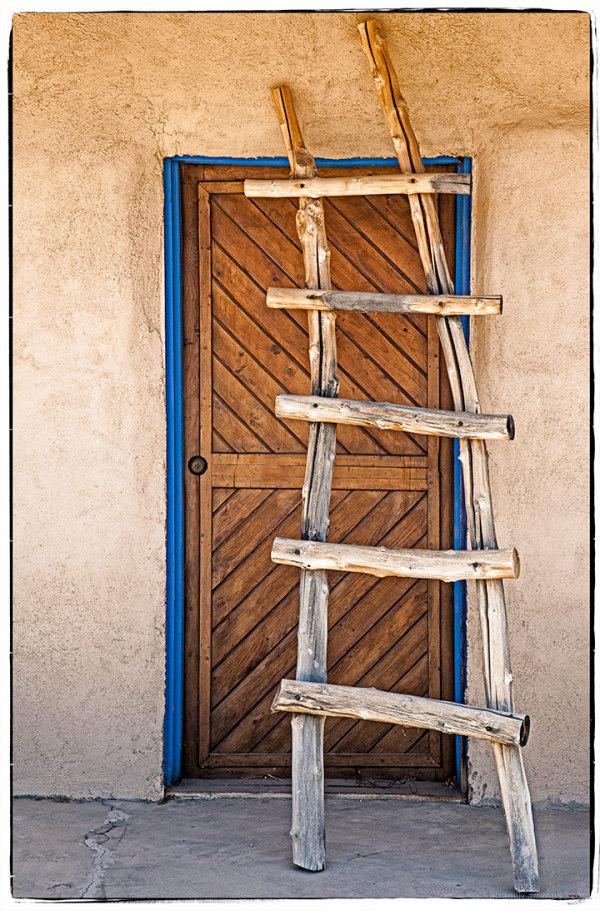 Ladder and Door