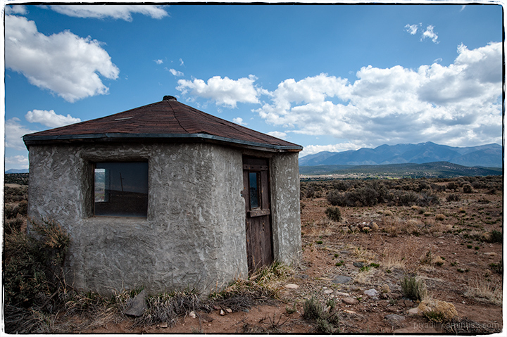 Little Gray Building in the Middle of Nowhere