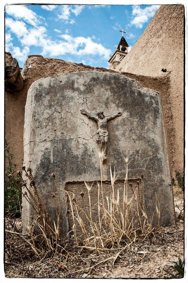 Headstone at Las Trampas