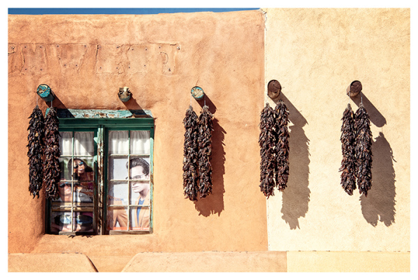 Taos Plaza Window