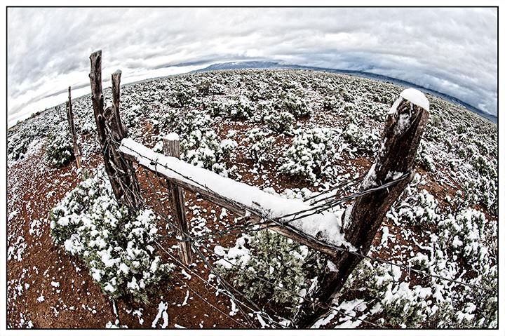 Late April Snow in Taos
