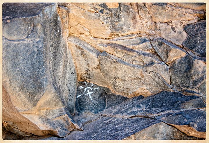 Cross in the Rocks
