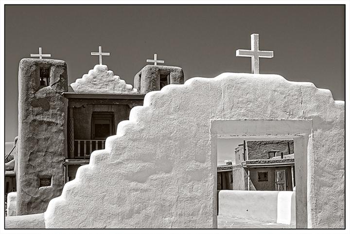 San Geronimo Chapel - Taos Pueblo