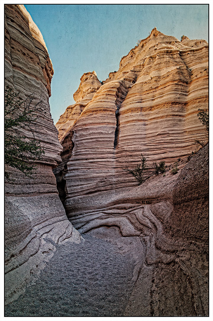 The Lost Files:  Path into the Slot Canyon