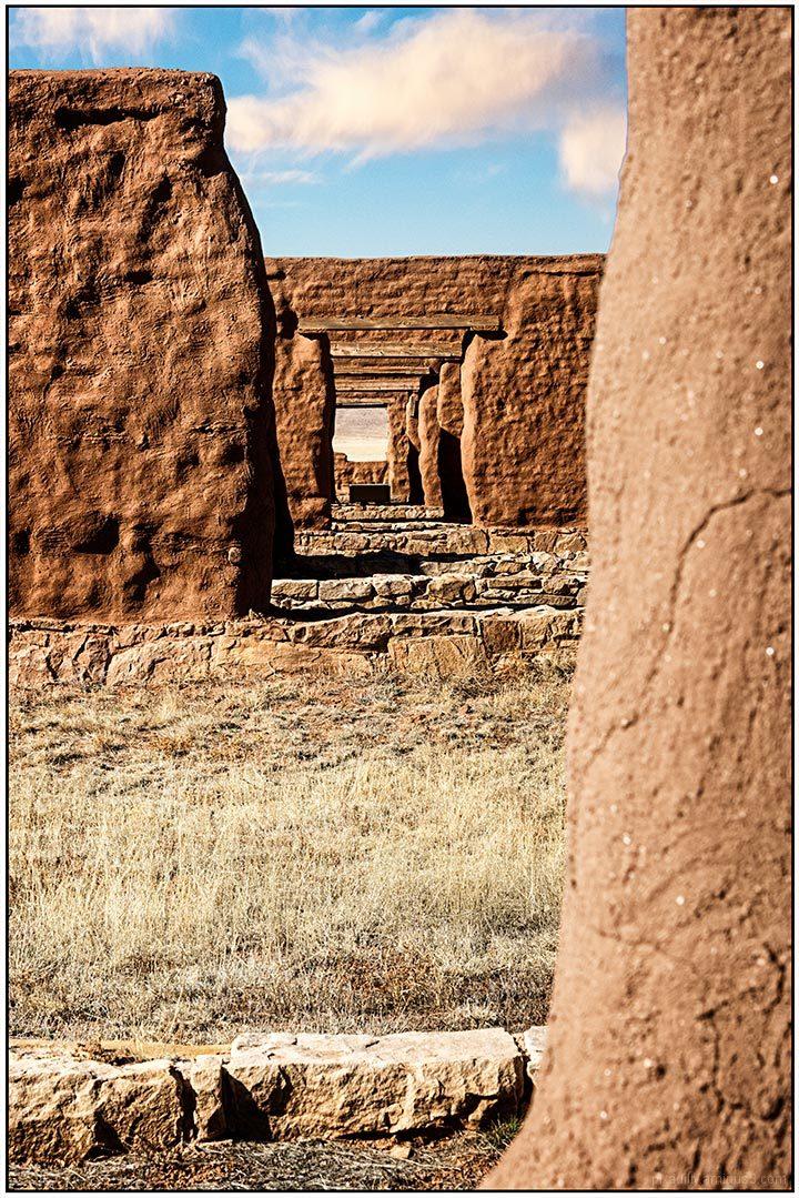 Storehouse Doorways - Fort Union