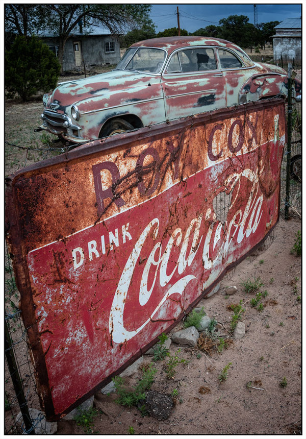 Old Cars: Pietown, NM
