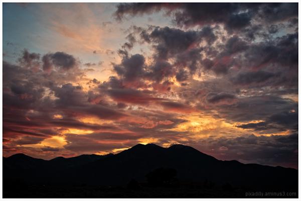 Taos Mountain Dawn