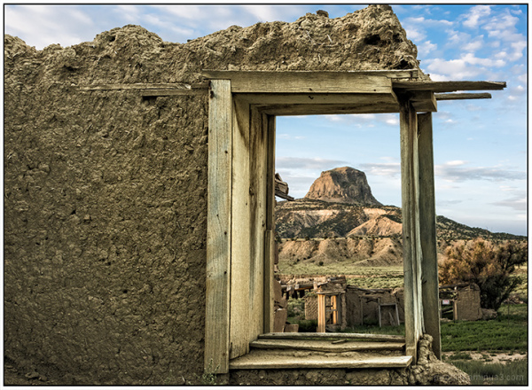 Cabezon:  Framed in Window