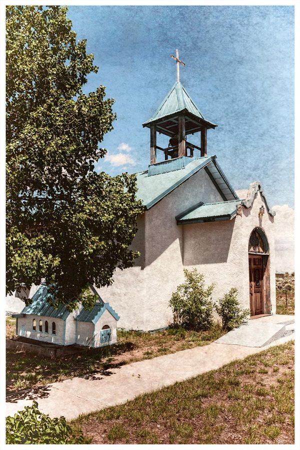 Church and Mini-Church, Garcia, Colorado