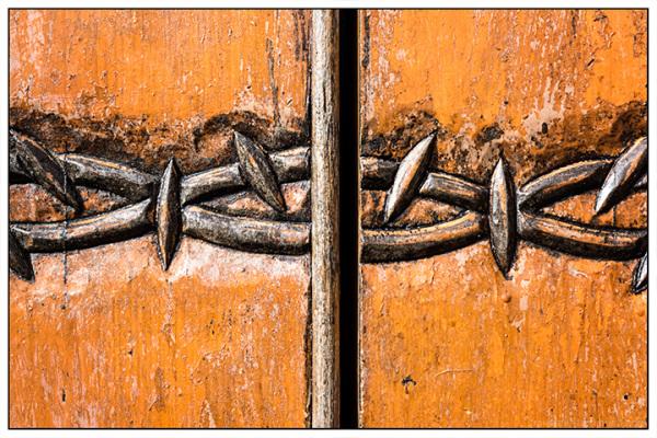 Crown of Thorn Door