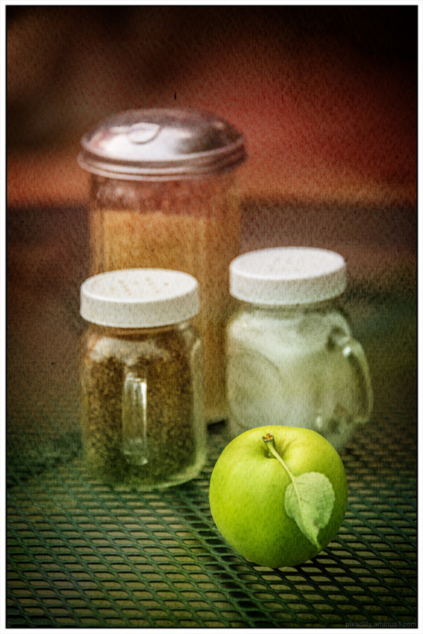 From the Archives:  Green Apple Still Life