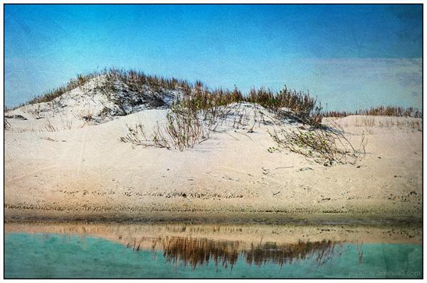 Reimagined:  Ocracoke Tidal Pool