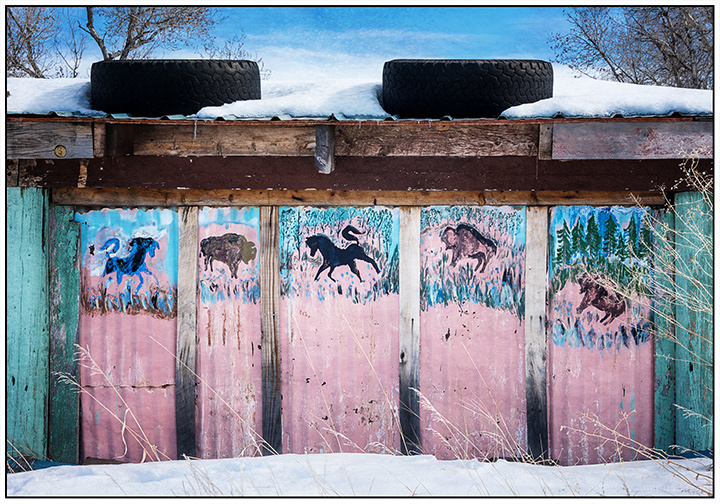 One Day Road Trip:  Animal Paintings