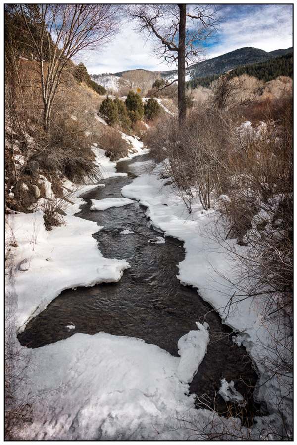 Snowbound Stream