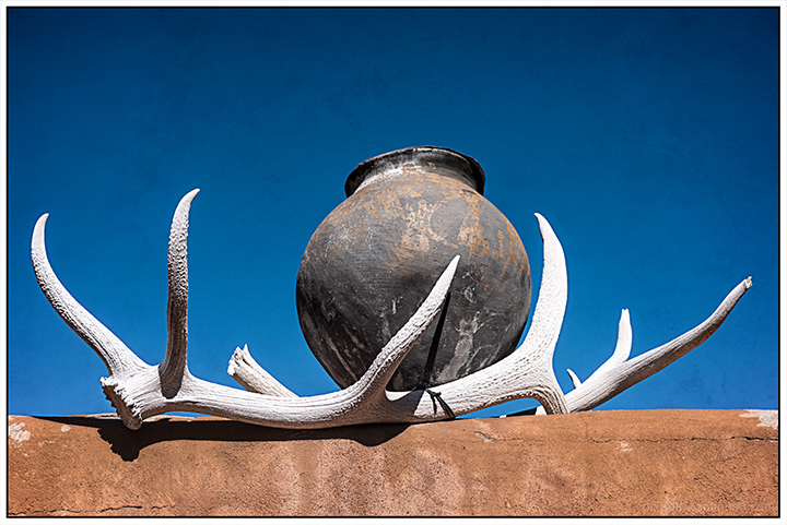 Antlers and Pot