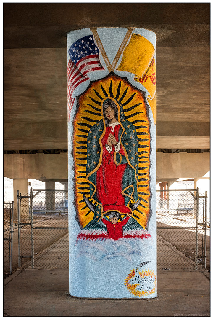 Guadalupe Under the Highway
