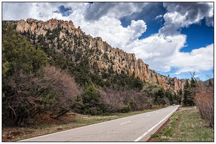Cimarron Canyon Road