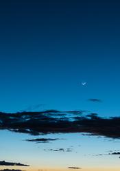 Moon over Tres Orejas