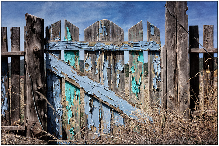 Old Painted Gate