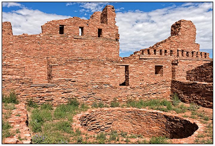 Kiva in Abo Mission Ruins