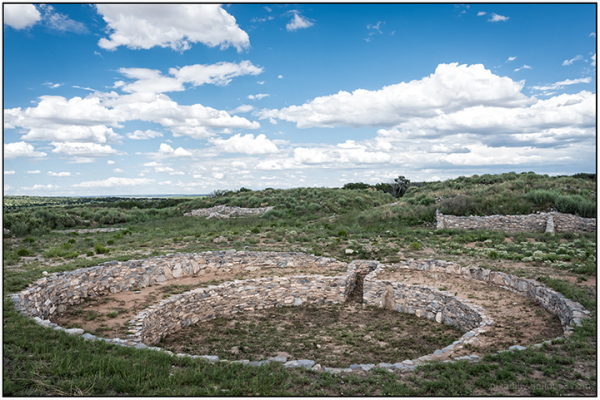 Large Kiva at Plaza of Gran Quivira