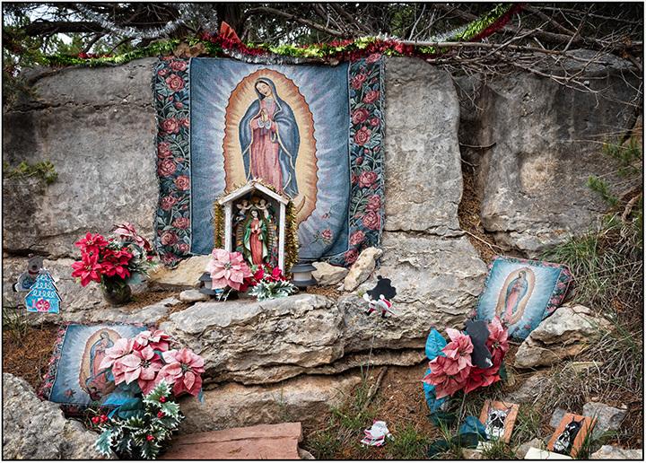 Roadside Guadalupe Shrine