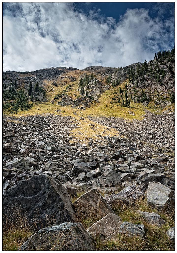 From the Base of Kachina Peak