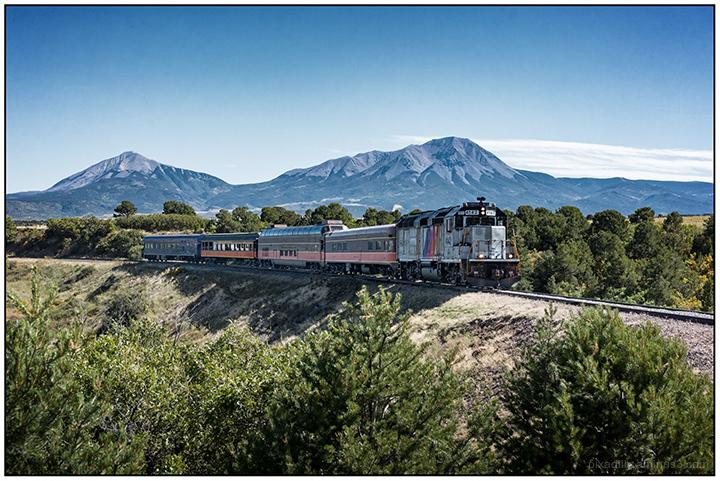 Narrow Gauge and the Spanish Peaks