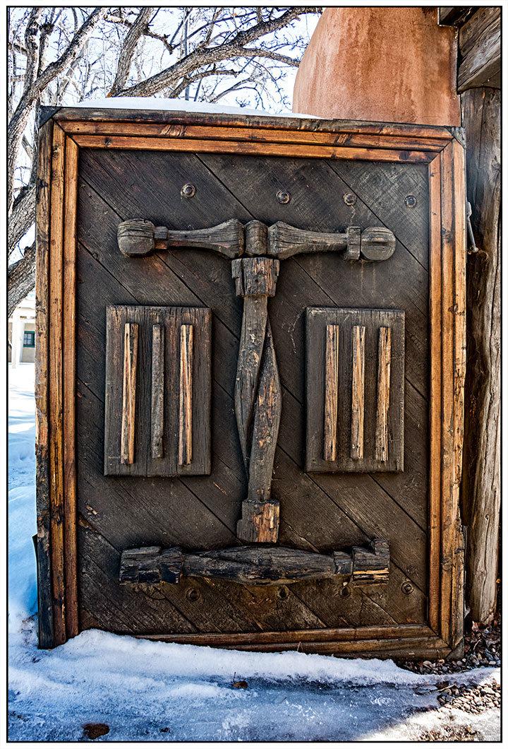 Mabel Dodge Wooden Door