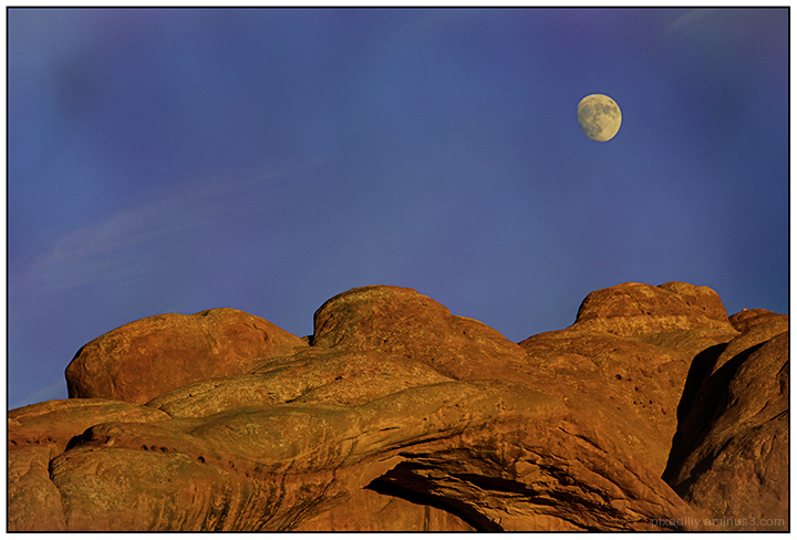 Arches National Park - Not Quite the Supermoon