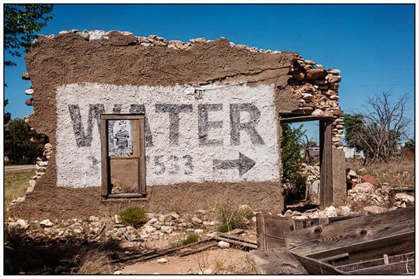 Walls:   Water