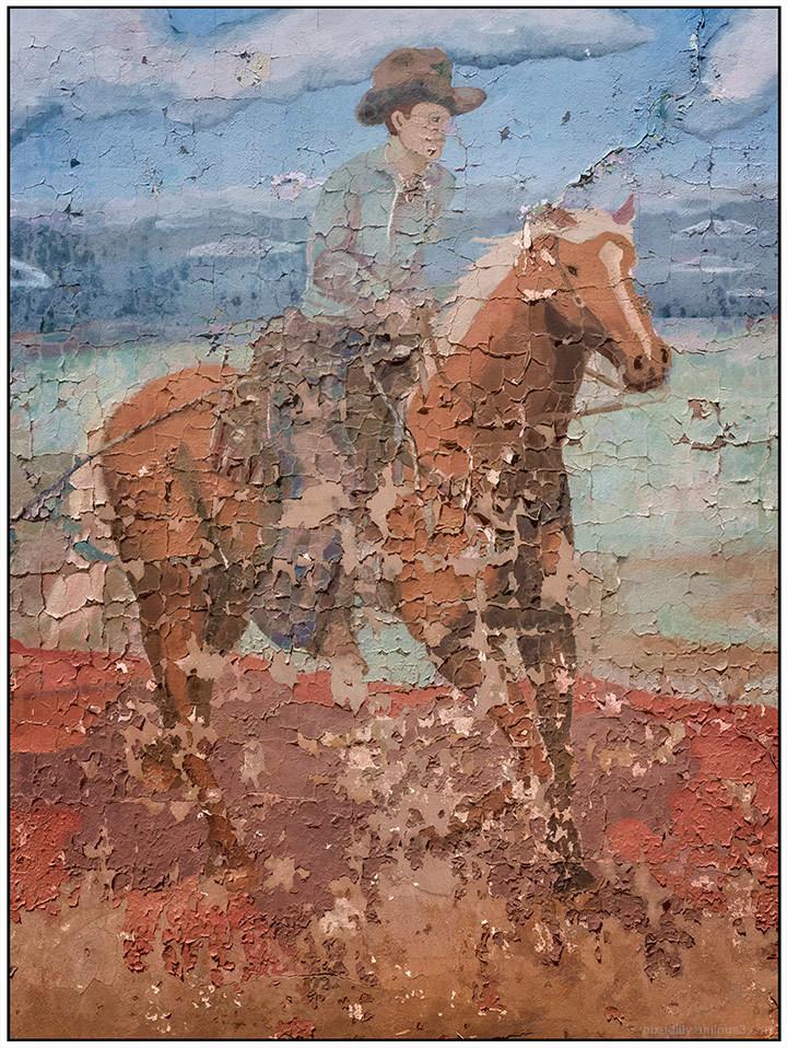 Walls:  Horse and Rider