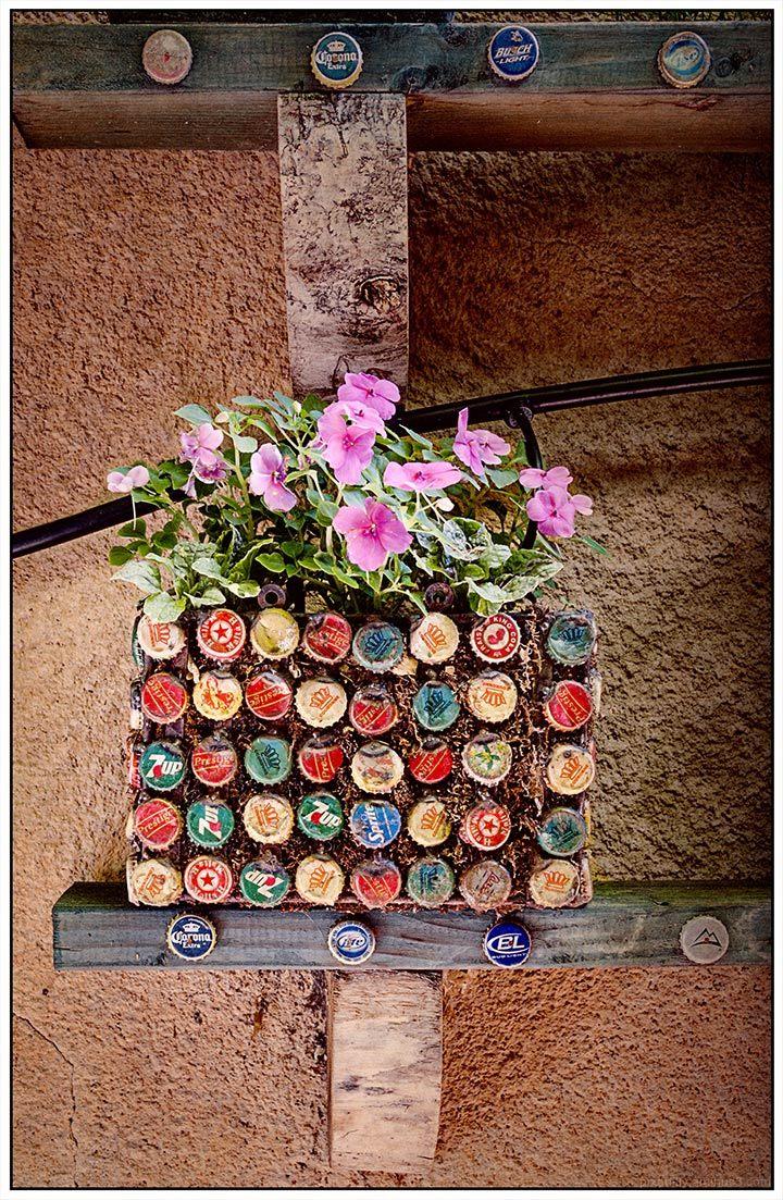 Bottlecap Planter
