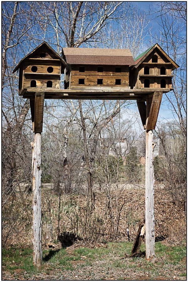 Mabel Dodge Birdhouses