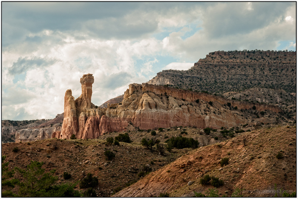 Chimney Rock at Ghost Ranch
