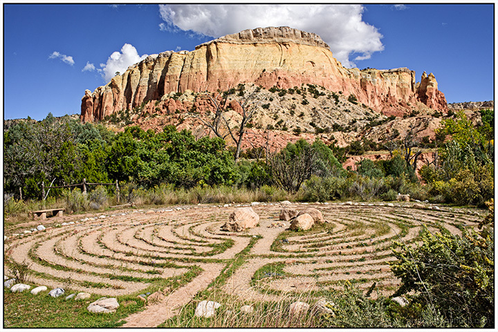 Labyrinth at Ghost Ranch