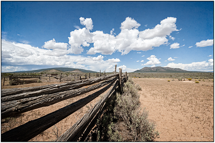 Corral on Taos Mesa