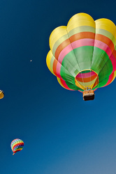Three Balloons and a Moon