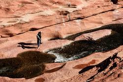 Explorers at Oak Creek Canyon