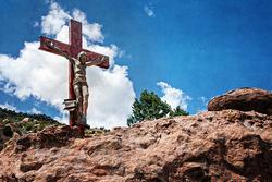 Cross at Virgin Mary Shrine