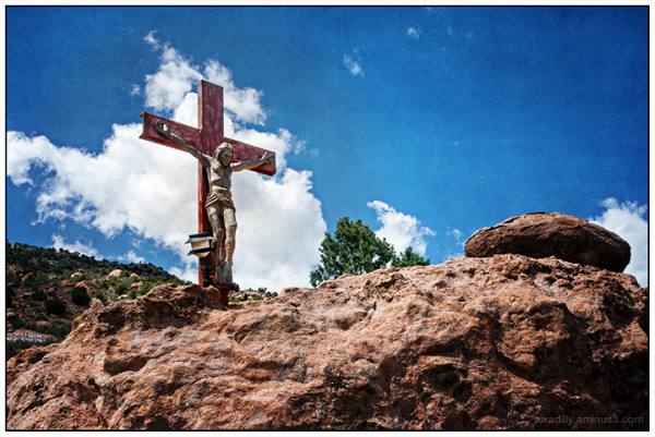 Cross at Virgin Mary Shrine