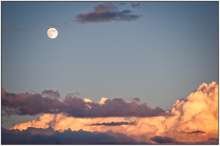 Full Moon Over Taos