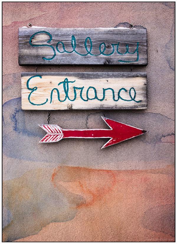 Pointillism:  Entrance